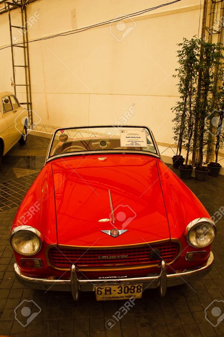 BANGKOK - JUNE 25 : Austin Healay Sprite, Vintage Cars On Display ...