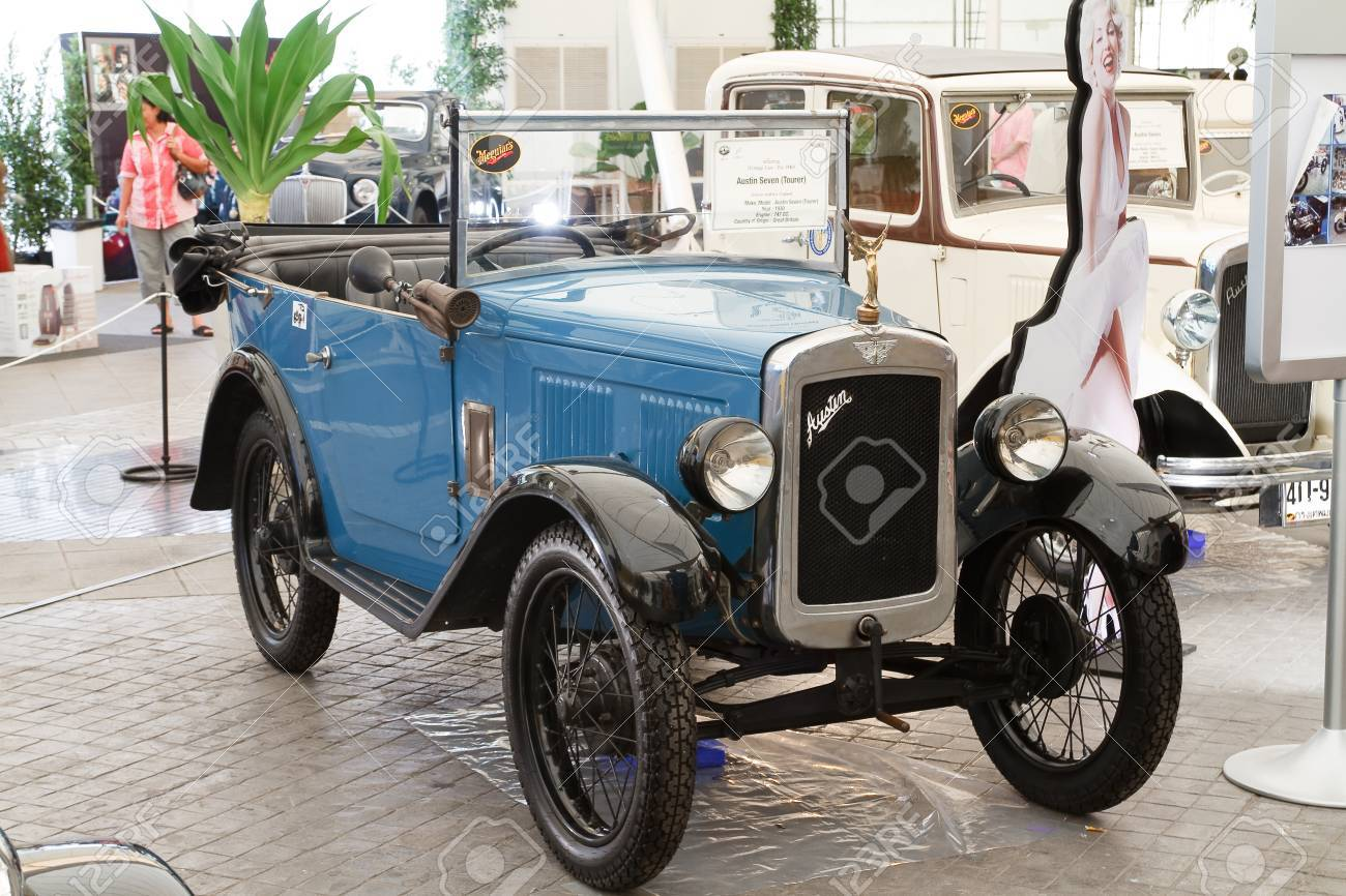 BANGKOK - JUNE 24 Austin Seven Tourer 1929 Year, Vintage.. Stock ...