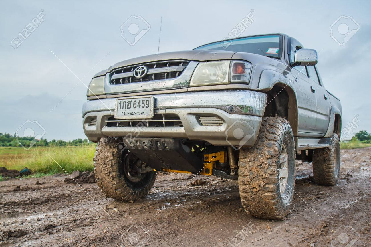 Bangkok August 22 Toyota Sport Cruiser Hilux 2 5l Crossing Stock Photo Picture And Royalty Free Image Image 31421482