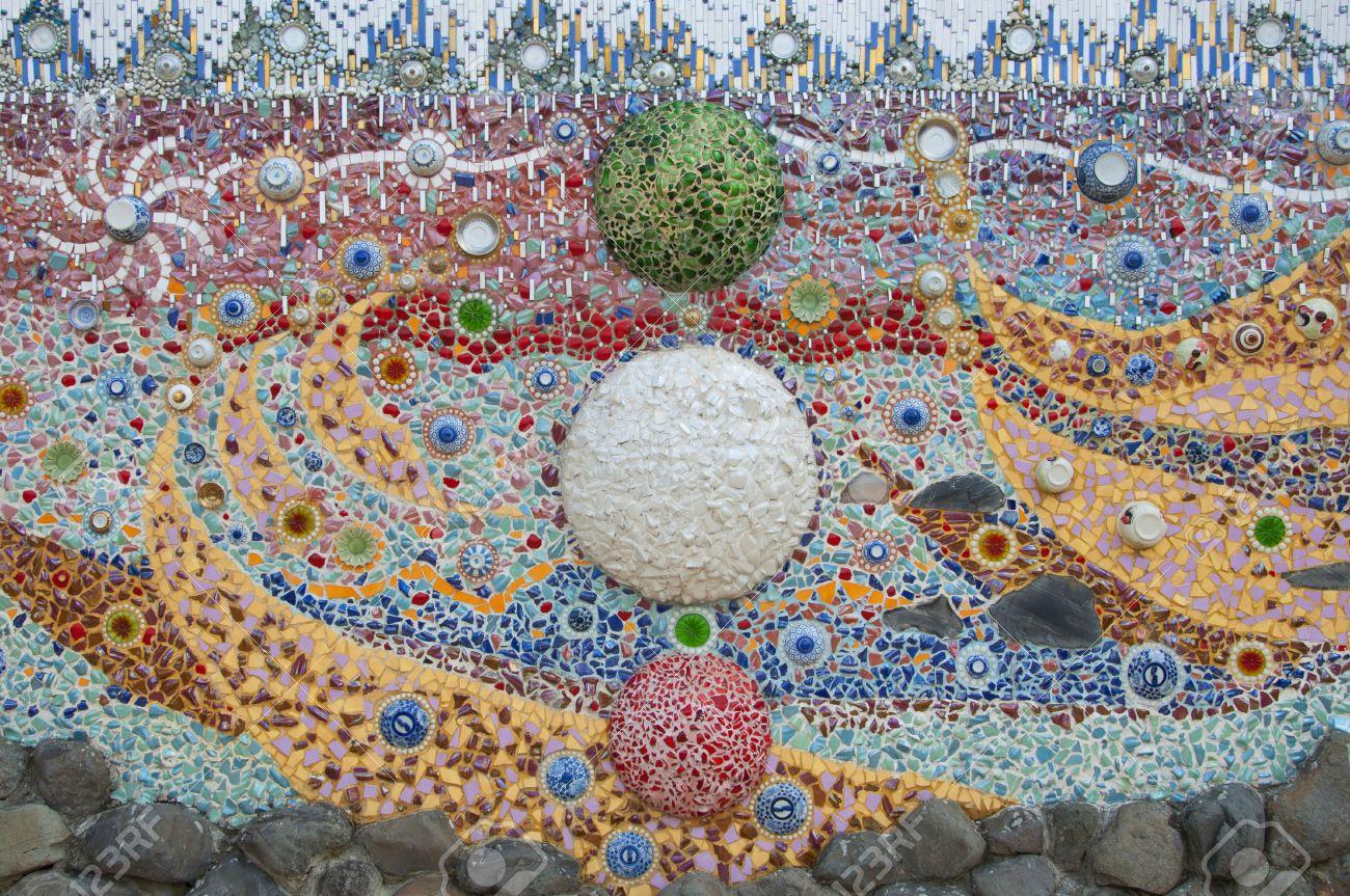 Mosaik Fliesen Selber Machen. Trendy Mosaik Elemente Aus Ton With ...
