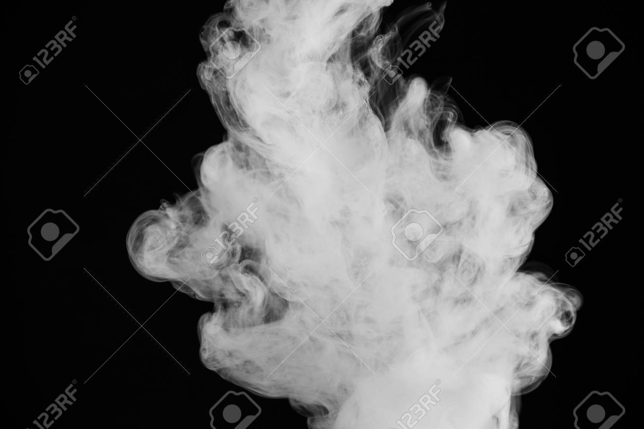 Black And White Smoking Photography