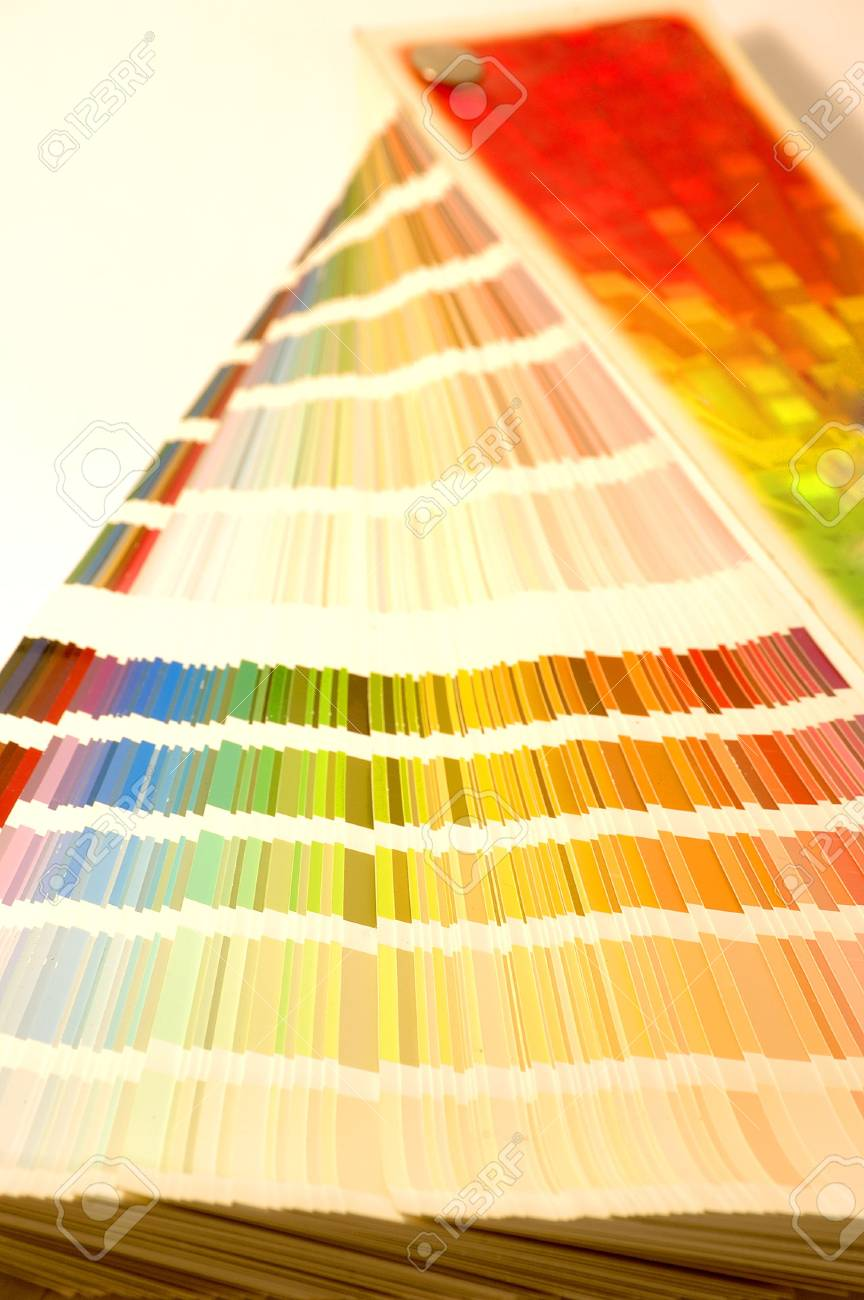 Color guide open in vertical Stock Photo - 860912