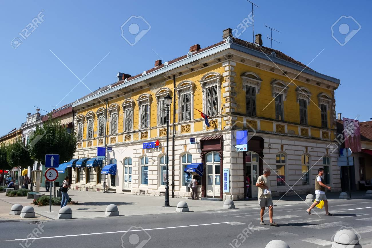 Daruvar Croatia August 16 2013 Old Style Architecture With Stock Photo Picture And Royalty Free Image Image 92636022