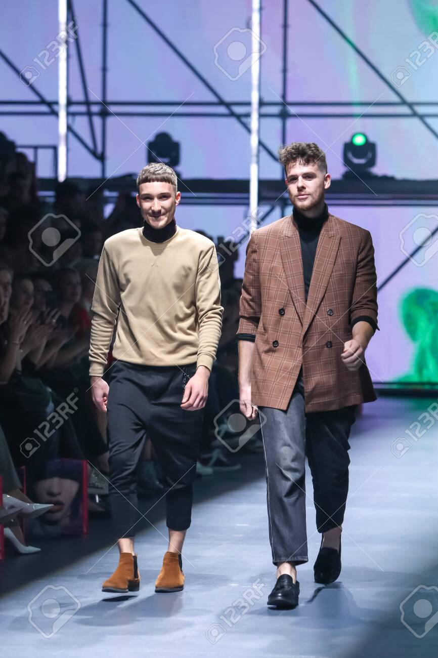 Zagreb Croatia October 24 2019 A Fashion Designers Les Stock Photo Picture And Royalty Free Image Image 139613467