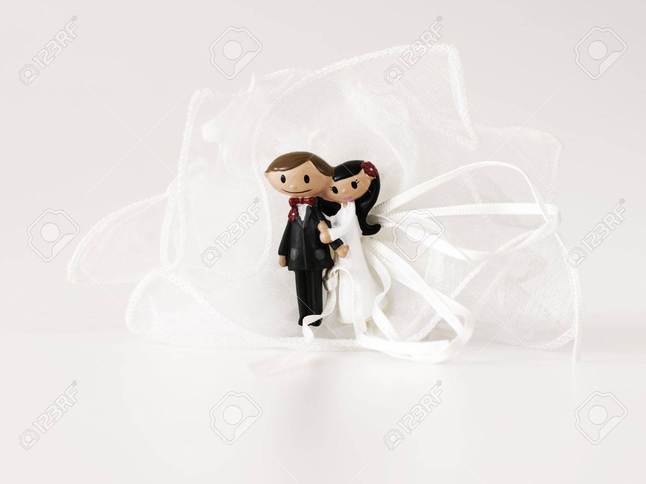 Puppets Of A Wedding Favor Sculpture Stock Photo, Picture And ...