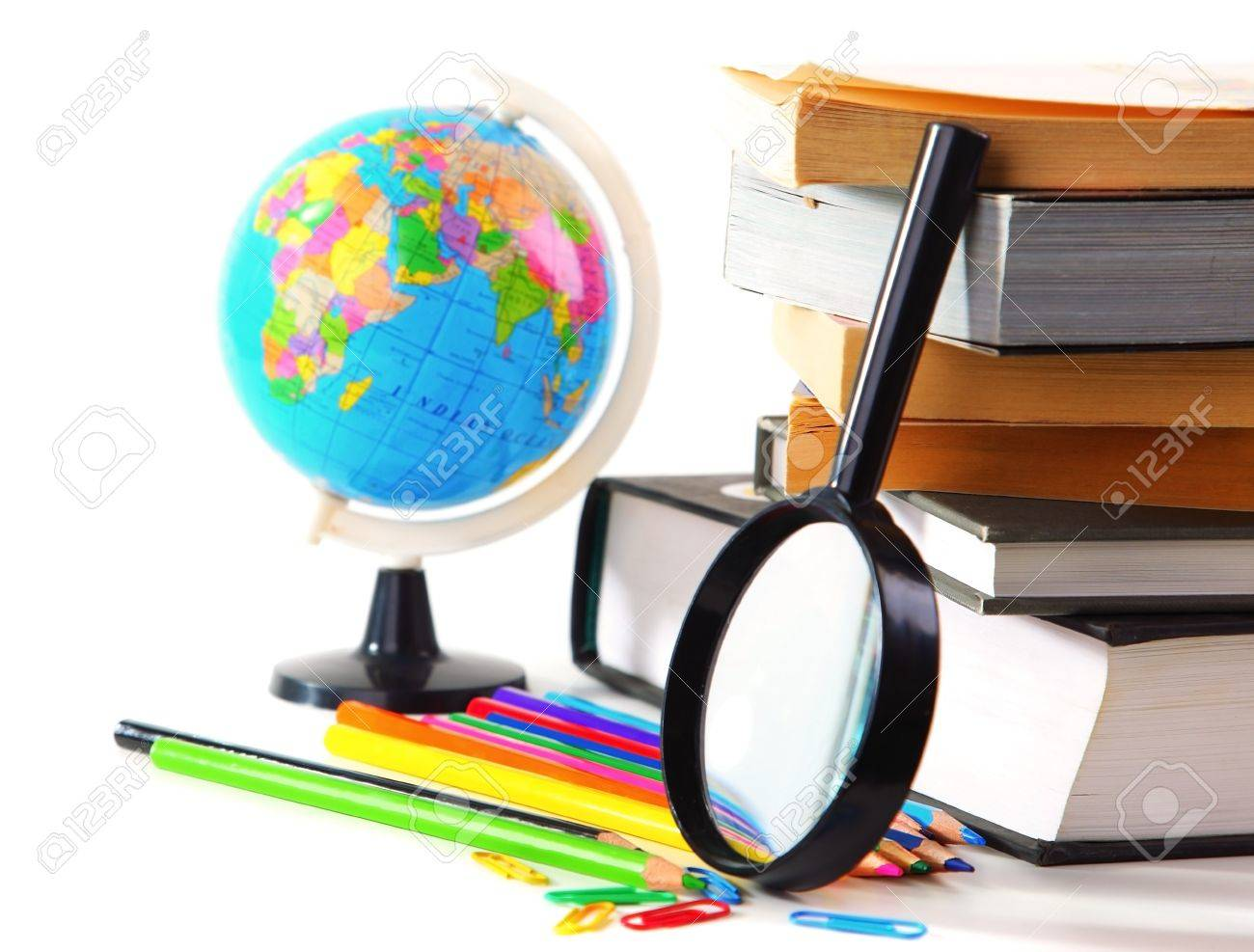 Study time conceptual image of education & knowledge Stock Photo - 7585230