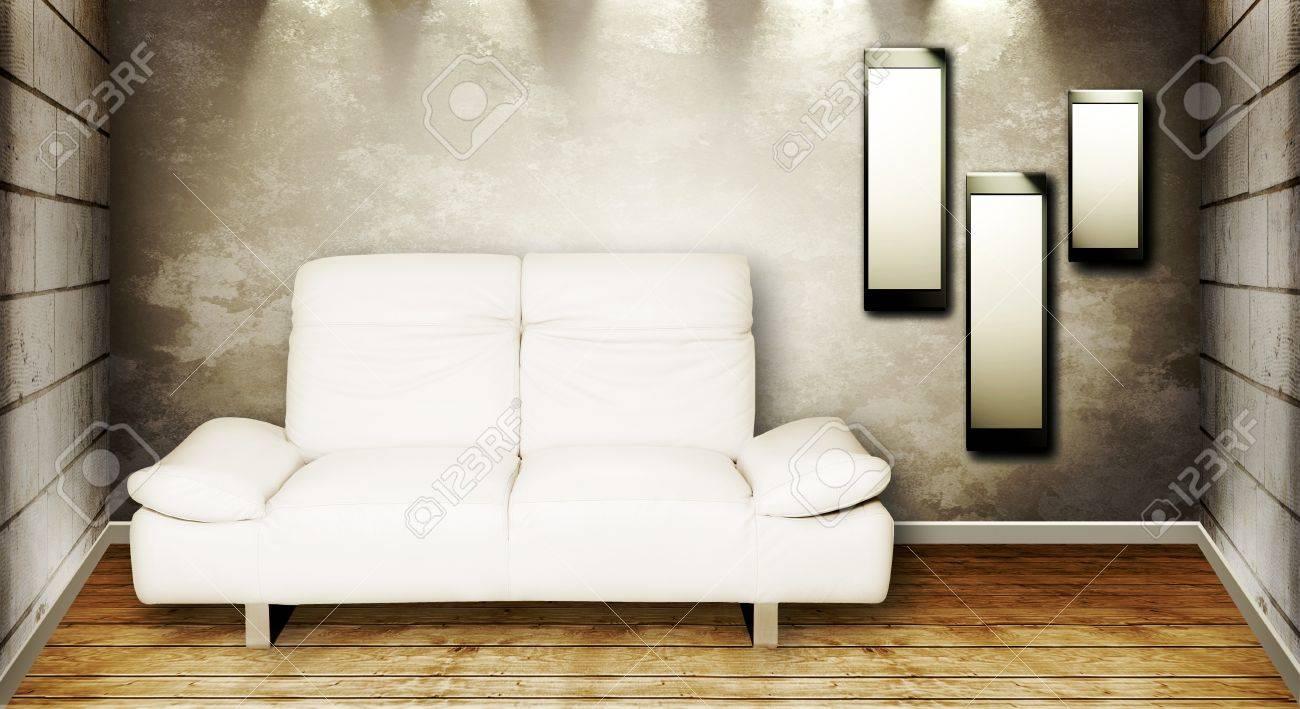 Luxury apartment with stylish modern interior design Stock Photo - 9590096