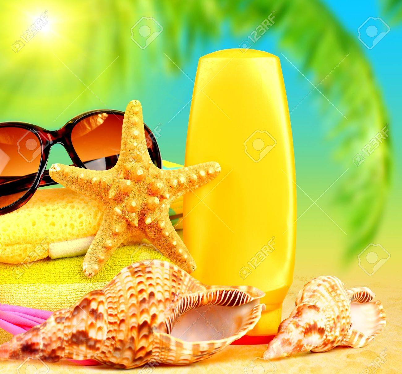 beach items stock photos royalty free beach items images and pictures