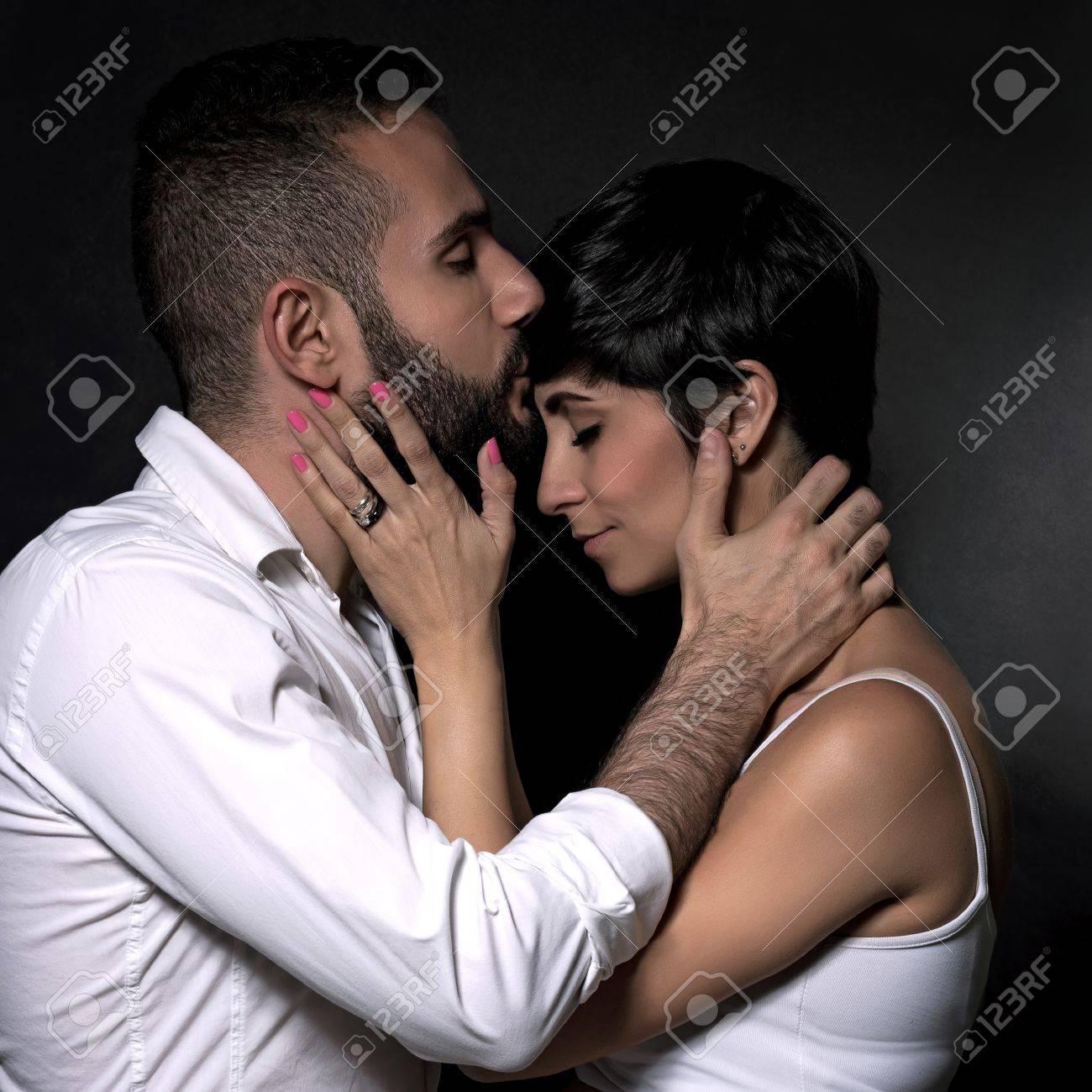 küssen mit geschlossenen augen