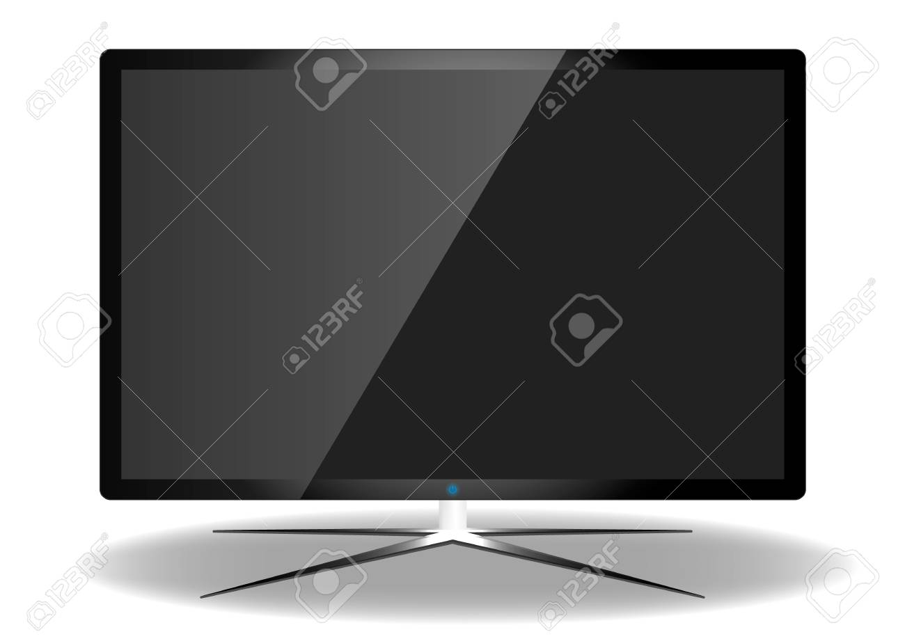 LED Television Stock Vector - 17012251