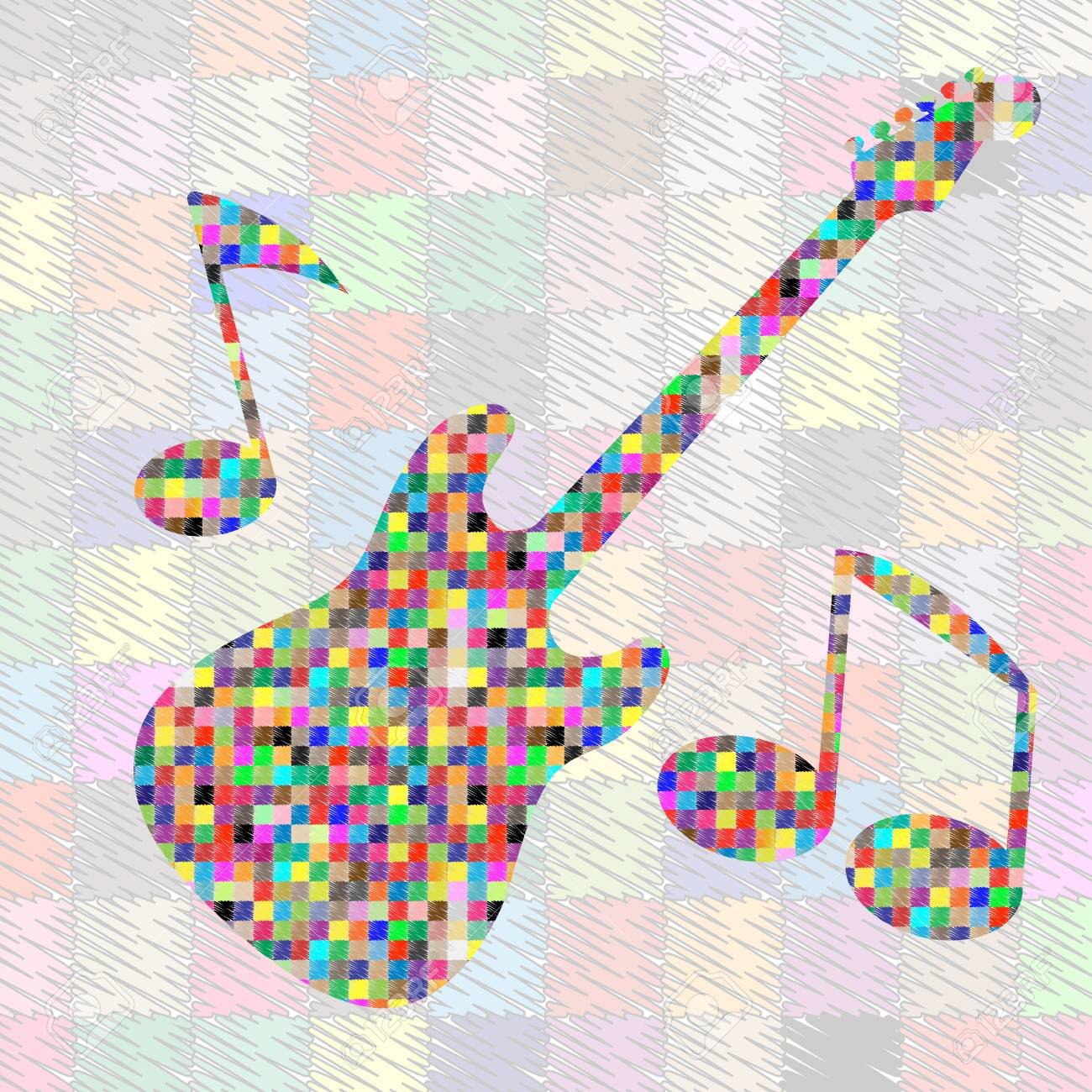 hand drawn music doodles Stock Vector - 17571079