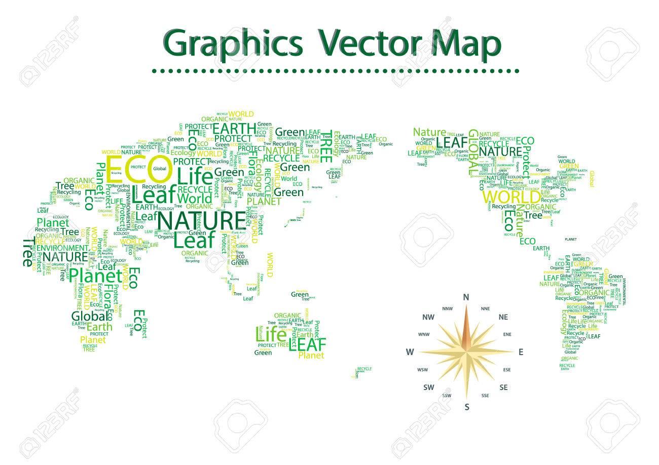 World map eco font vector set seamless pattern royalty free cliparts vector world map eco font vector set seamless pattern gumiabroncs Choice Image