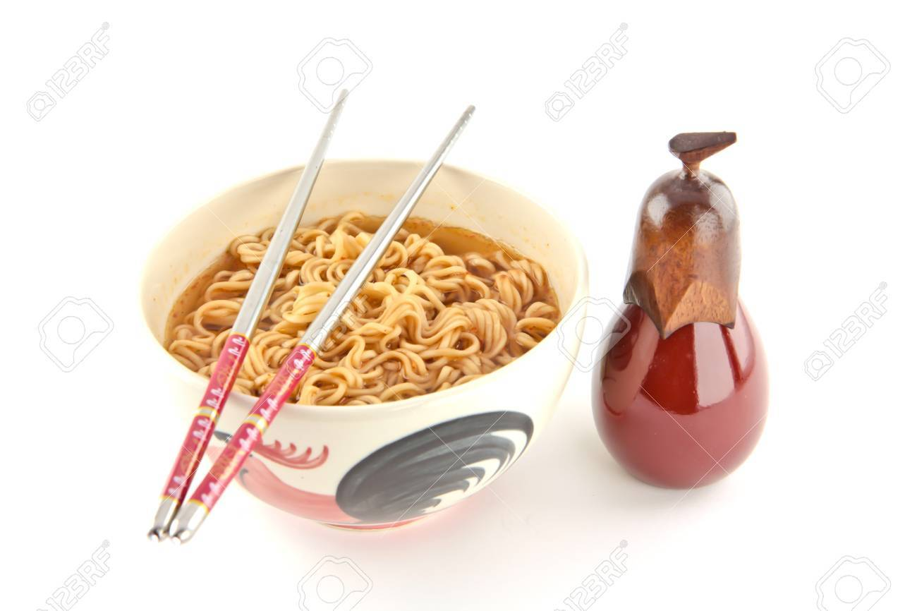 Background noodle  food in bangkok thailand Stock Photo - 10822695