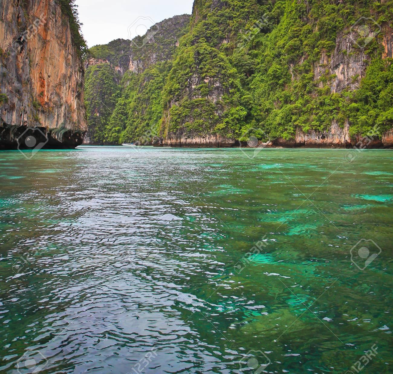 Koh Phi Phi island in thailand Stock Photo - 13964906
