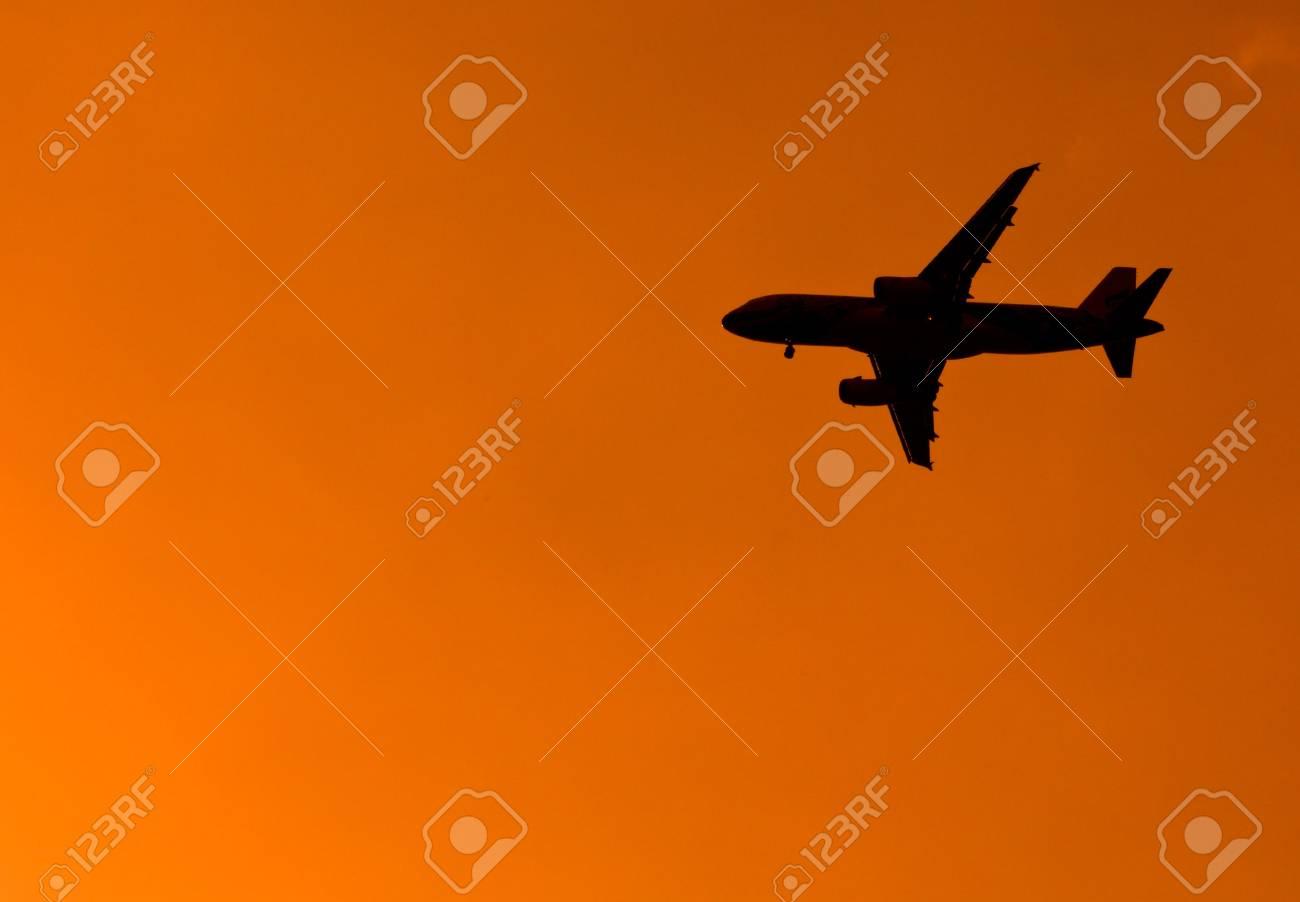 Aircraft Sunset Stock Photo - 14244140