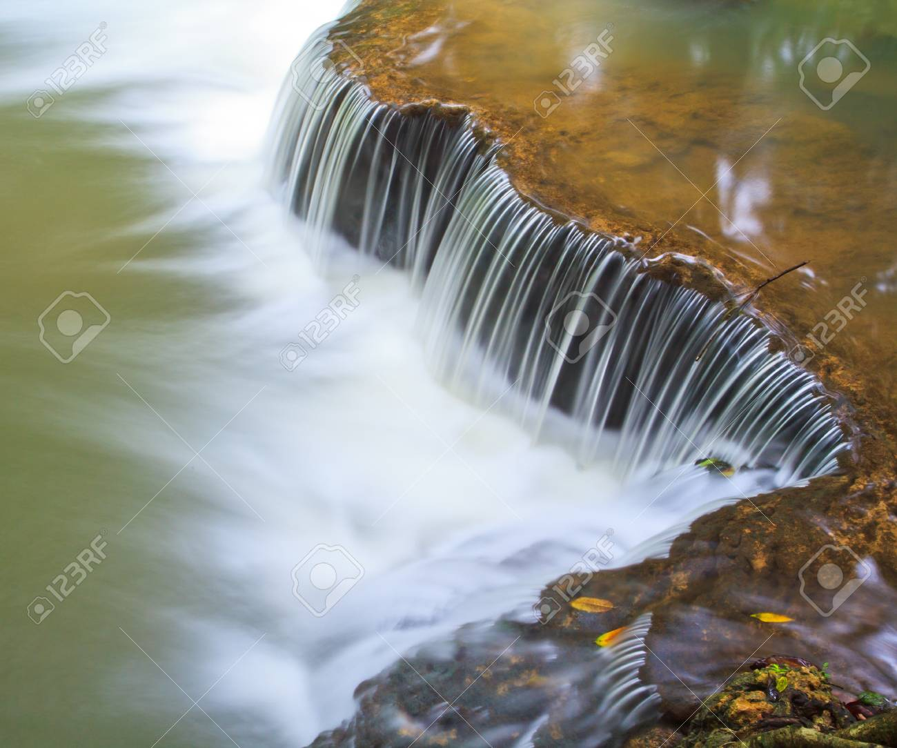 waterfall in the Forest National park thailand Stock Photo - 16321746