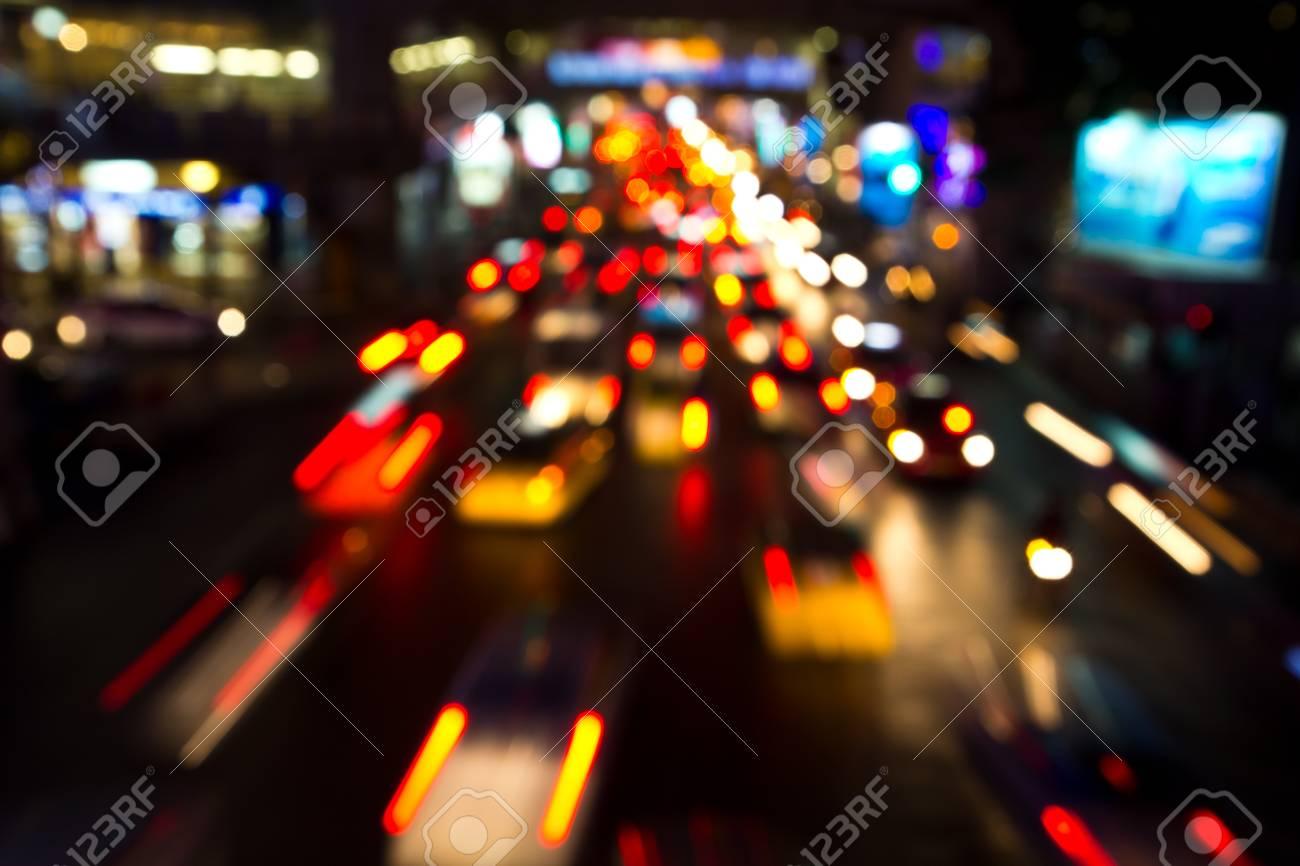 Night lights of city Stock Photo - 17144568