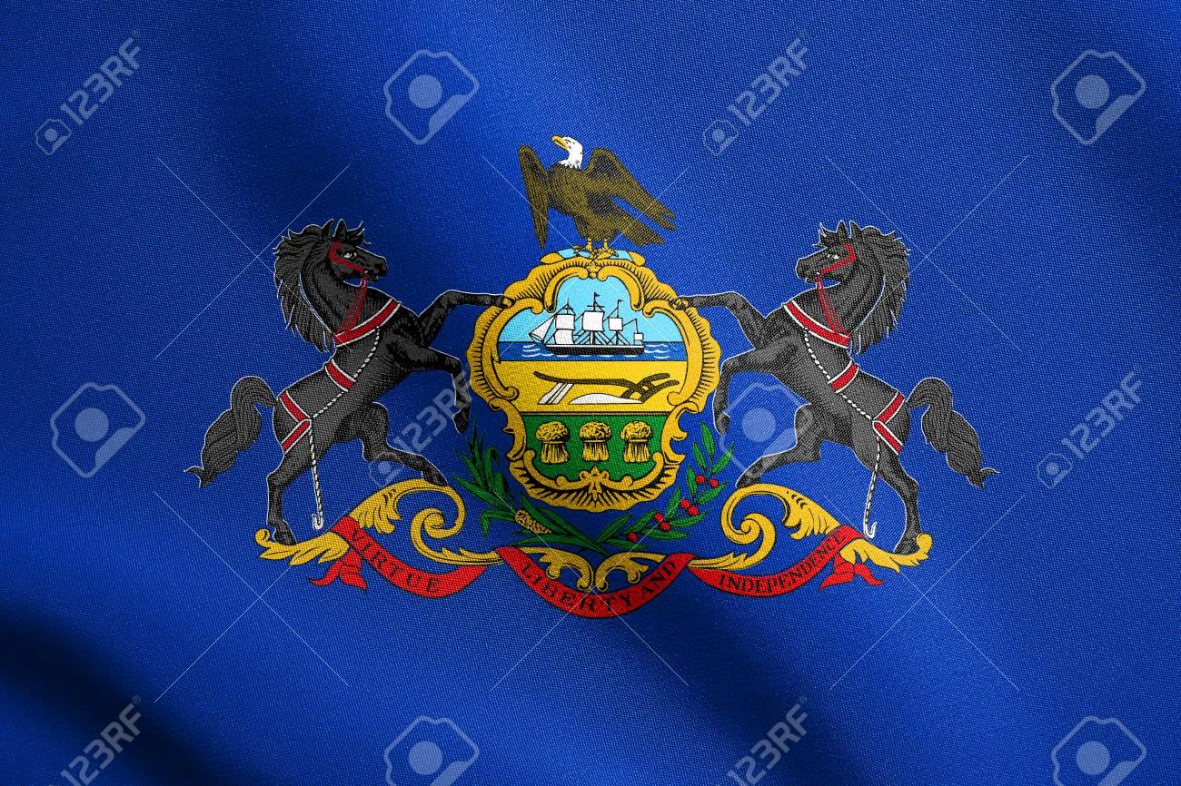 Excepcional Colorear Bandera De Estado De Missouri Festooning ...