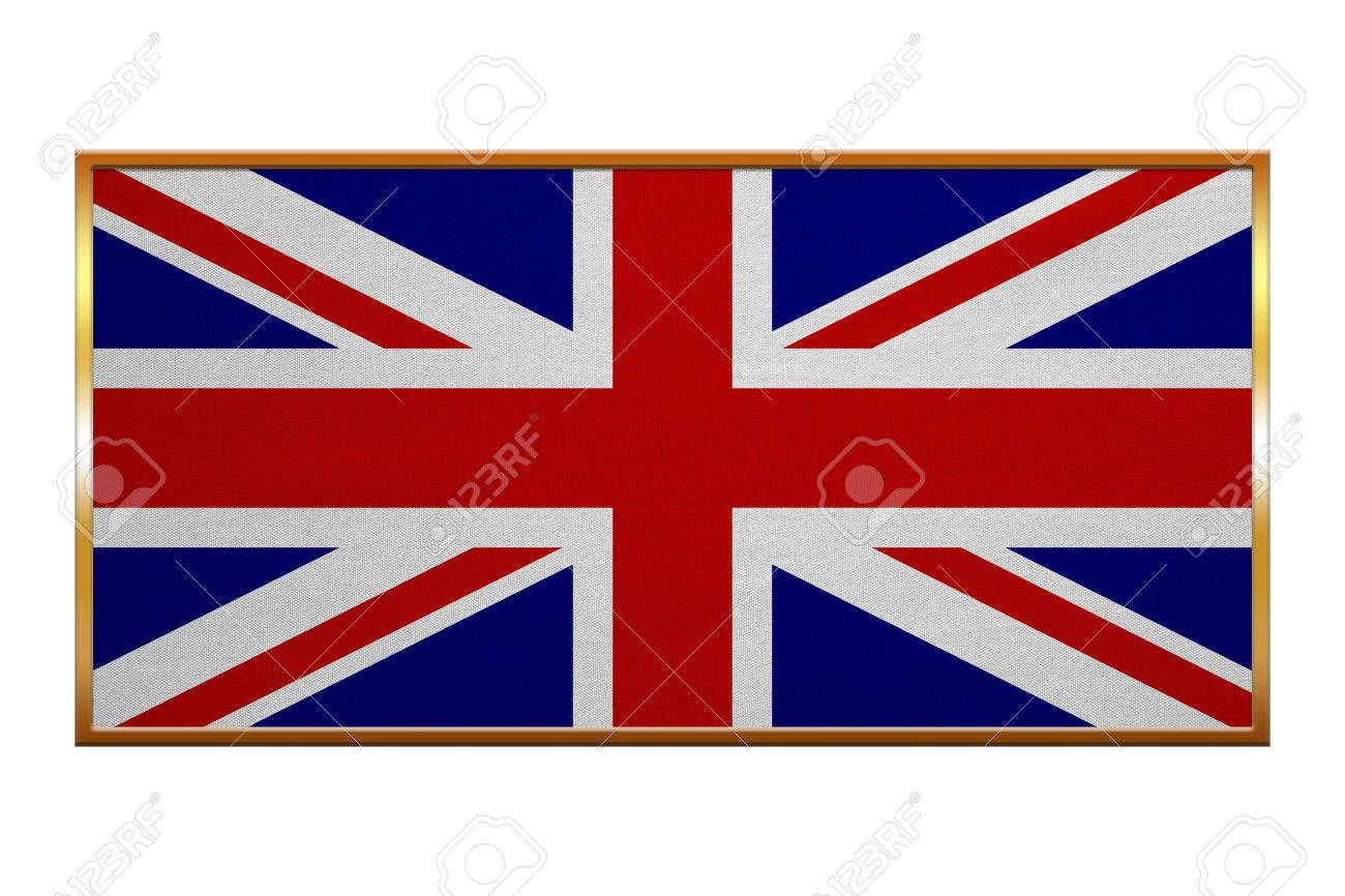 Bandera Oficial Nacional Británico. Reino Unido Símbolo Patriótico ...