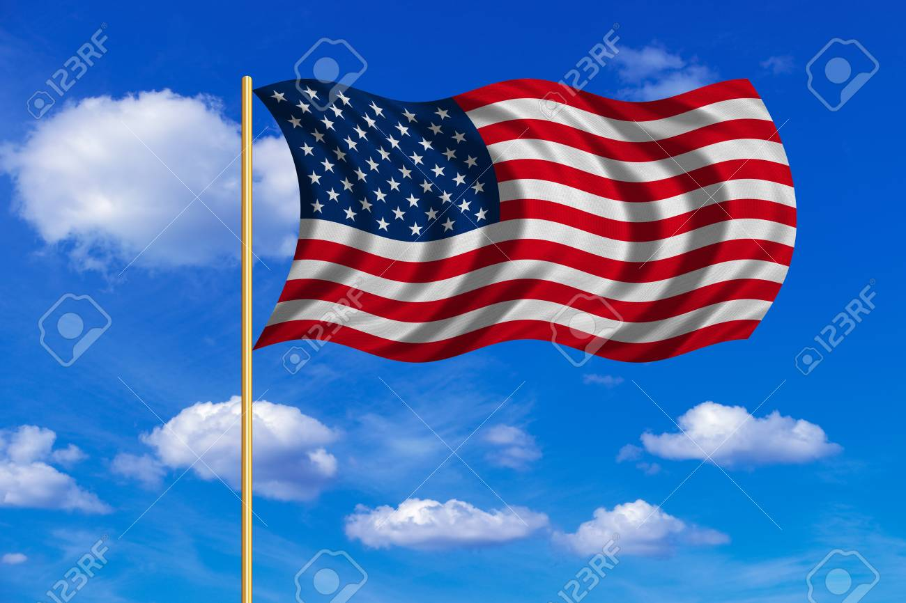 American National Official Flag Symbol Of The United States