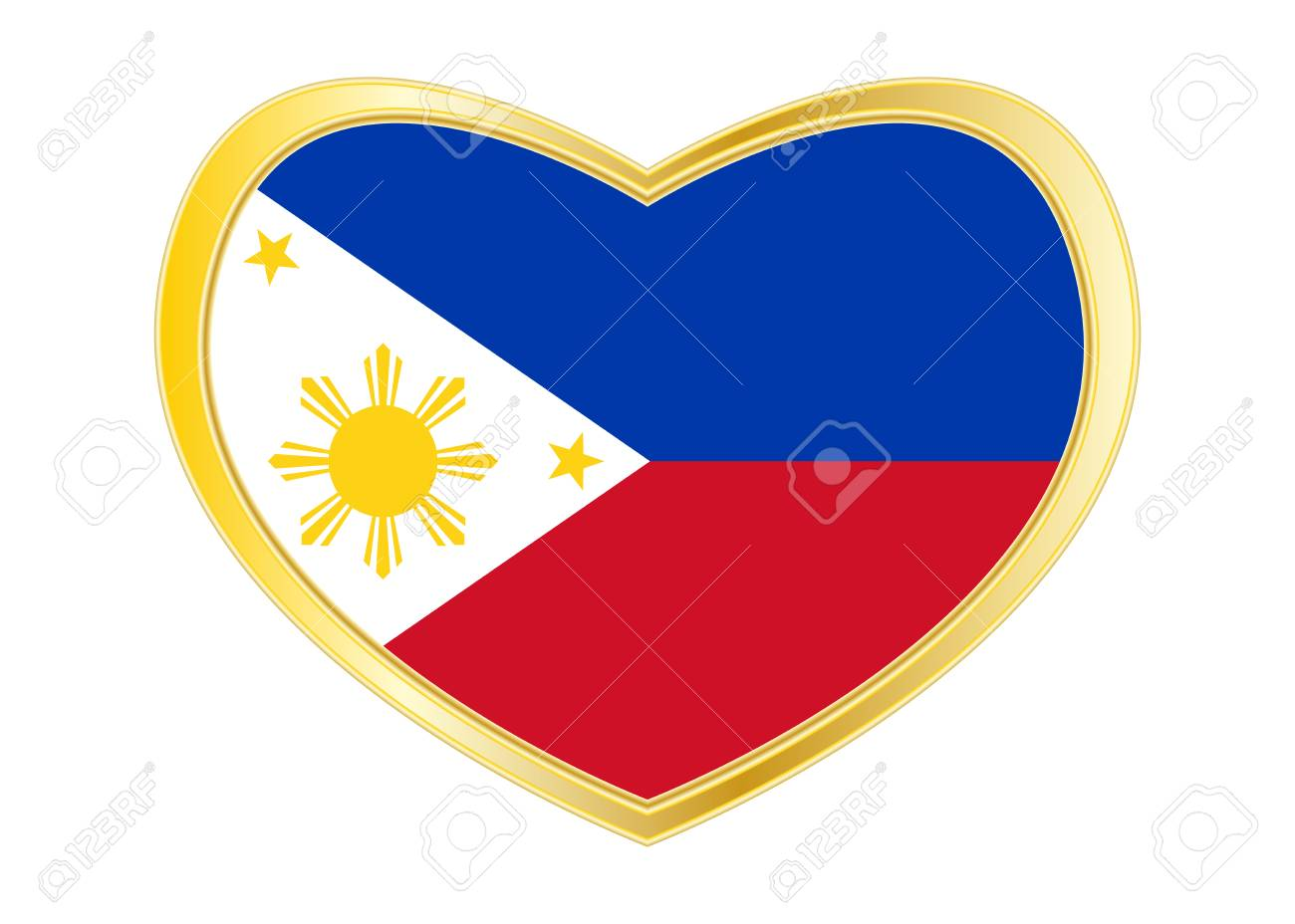 Philippine national official flag patriotic symbol banner philippine national official flag patriotic symbol banner element background correct colors buycottarizona Images
