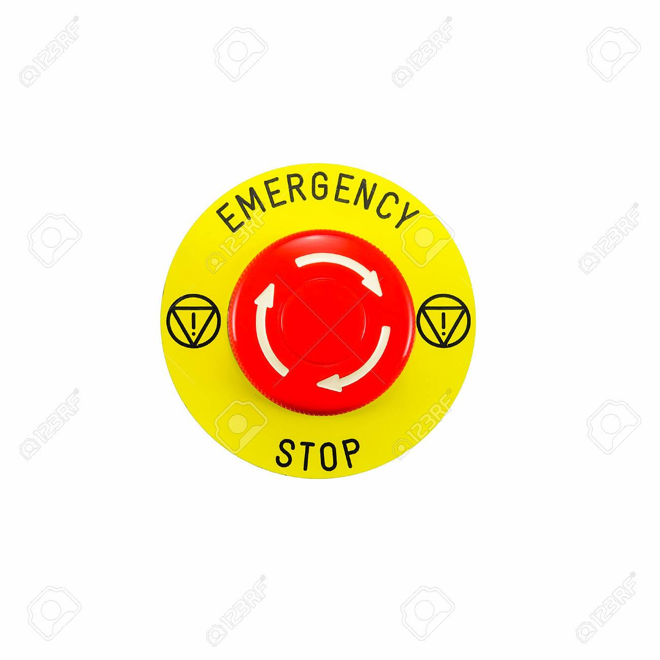 Red emergency button switch isolated on white background stock photo red emergency button switch isolated on white background stock photo 24174590 buycottarizona Images