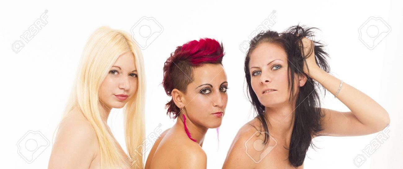 Three Sexy Lesbian