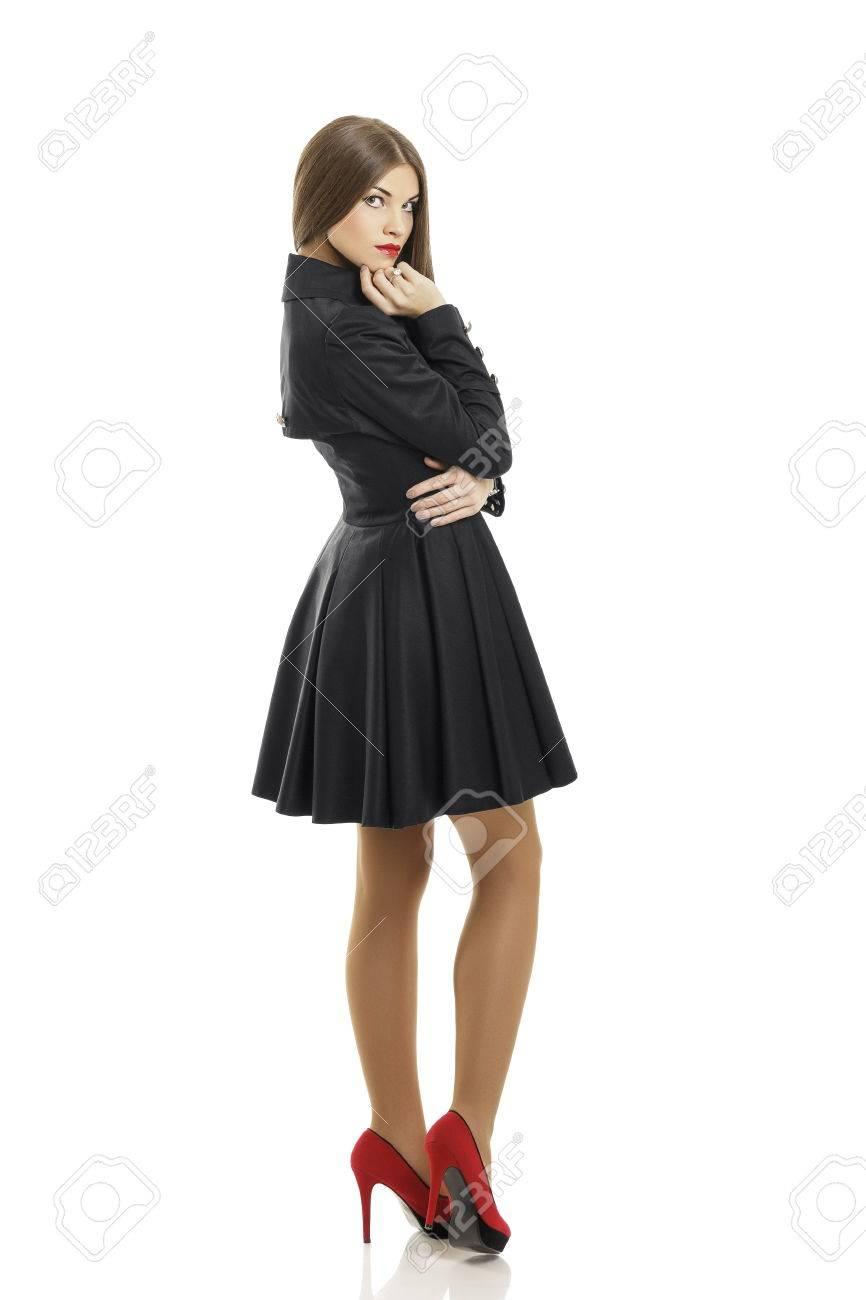 Schwarzes Kleid Welche Schuhe – Schuhe Galerie