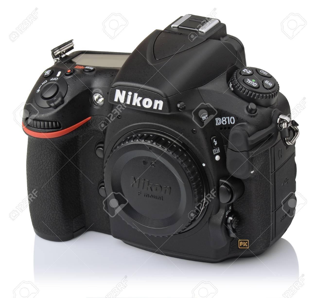 camera body nikon d810 the first digital slr camera in nikon stock