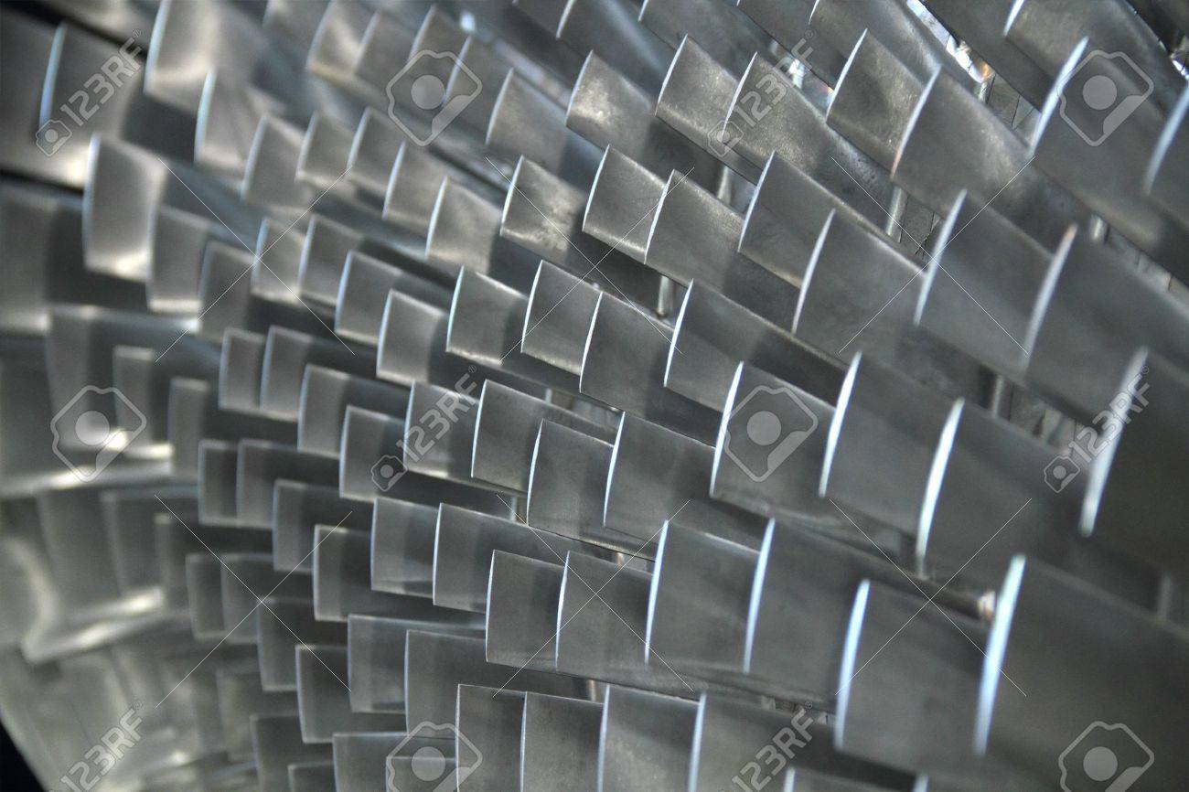 turbine blade texture background Stock Photo - 12156654