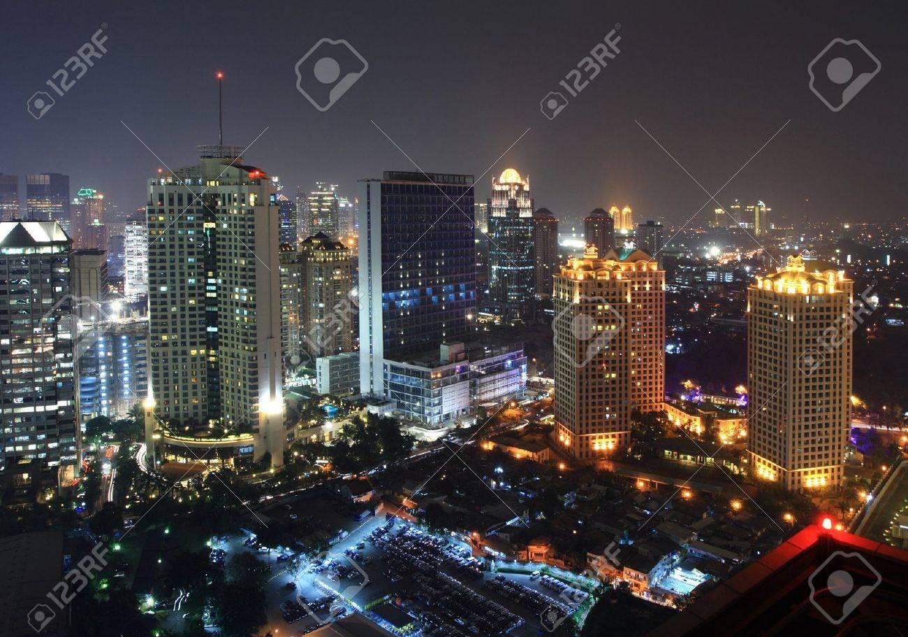Night view of a metropolitan city Stock Photo - 12544722