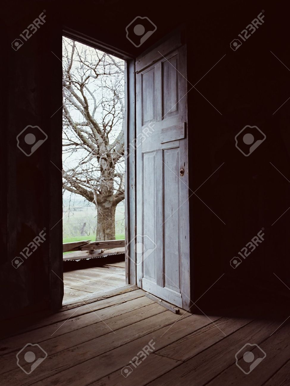 Open Door-Darkness to light-conceptual Stock Photo - 5973358 & Open Door-Darkness To Light-conceptual Stock Photo Picture And ...