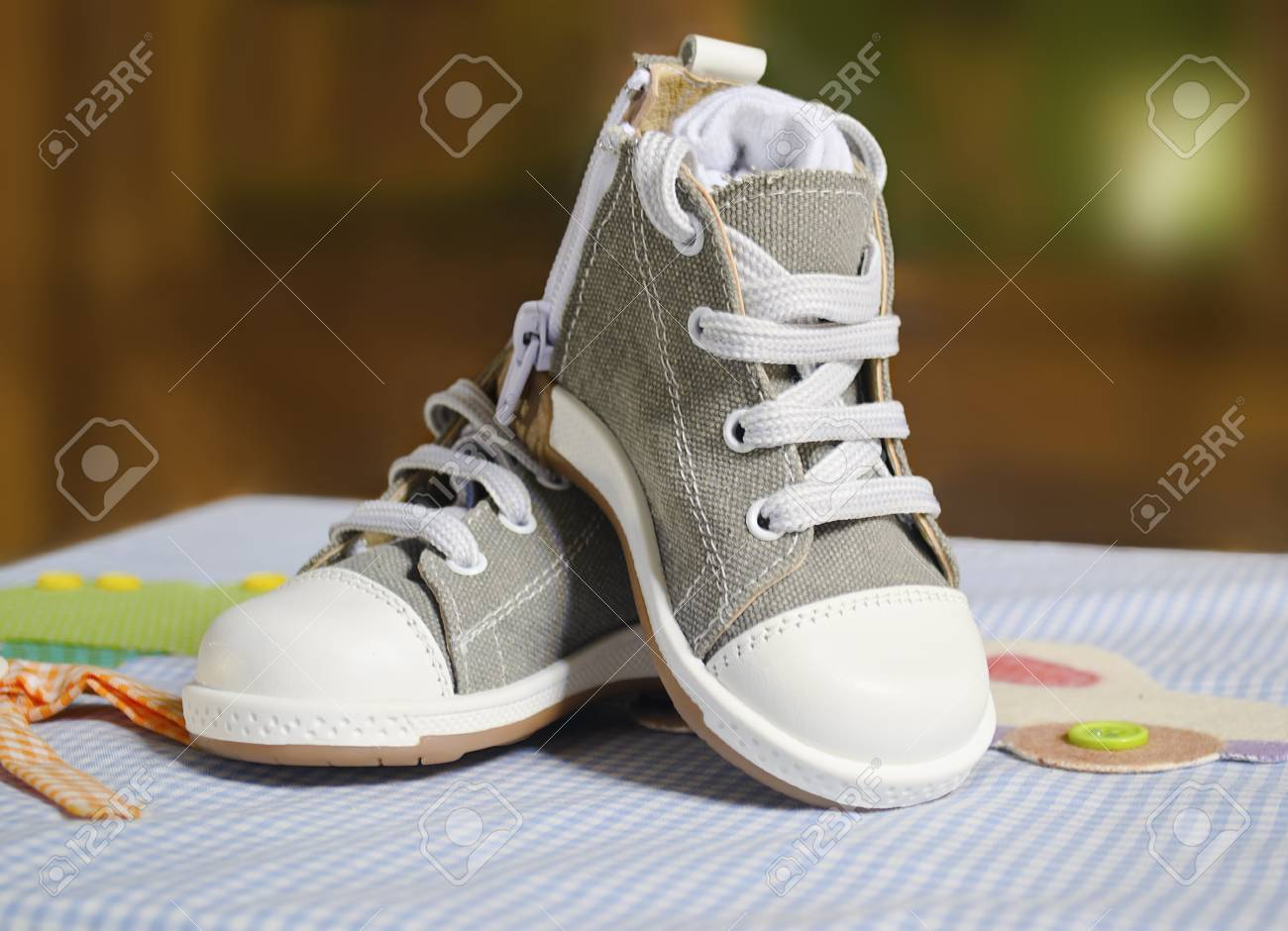 Boy christening shoes