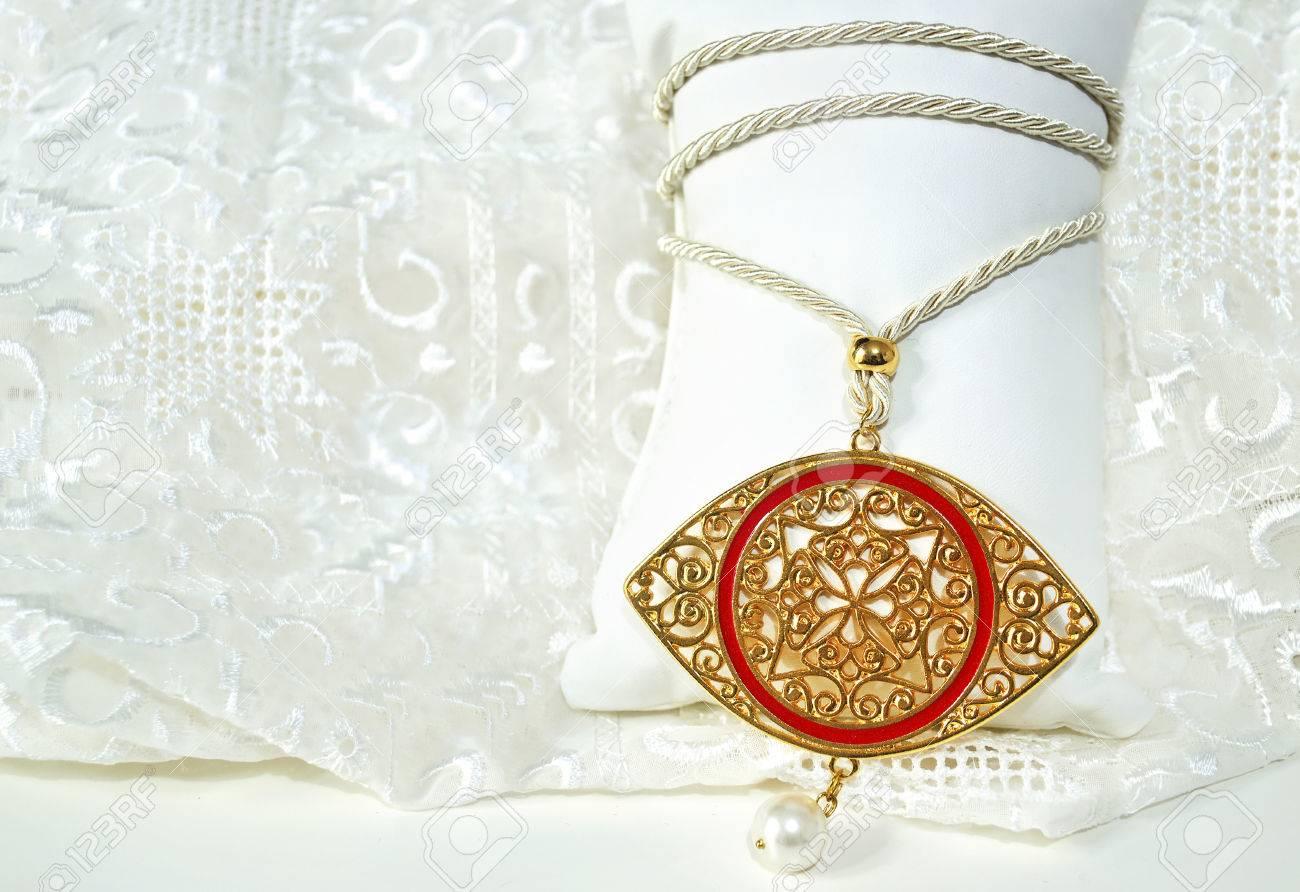 Gold byzantine eye necklace expensive jewelry greek evil stock gold byzantine eye necklace expensive jewelry greek evil eye jewelry stock photo 52523238 aloadofball Choice Image