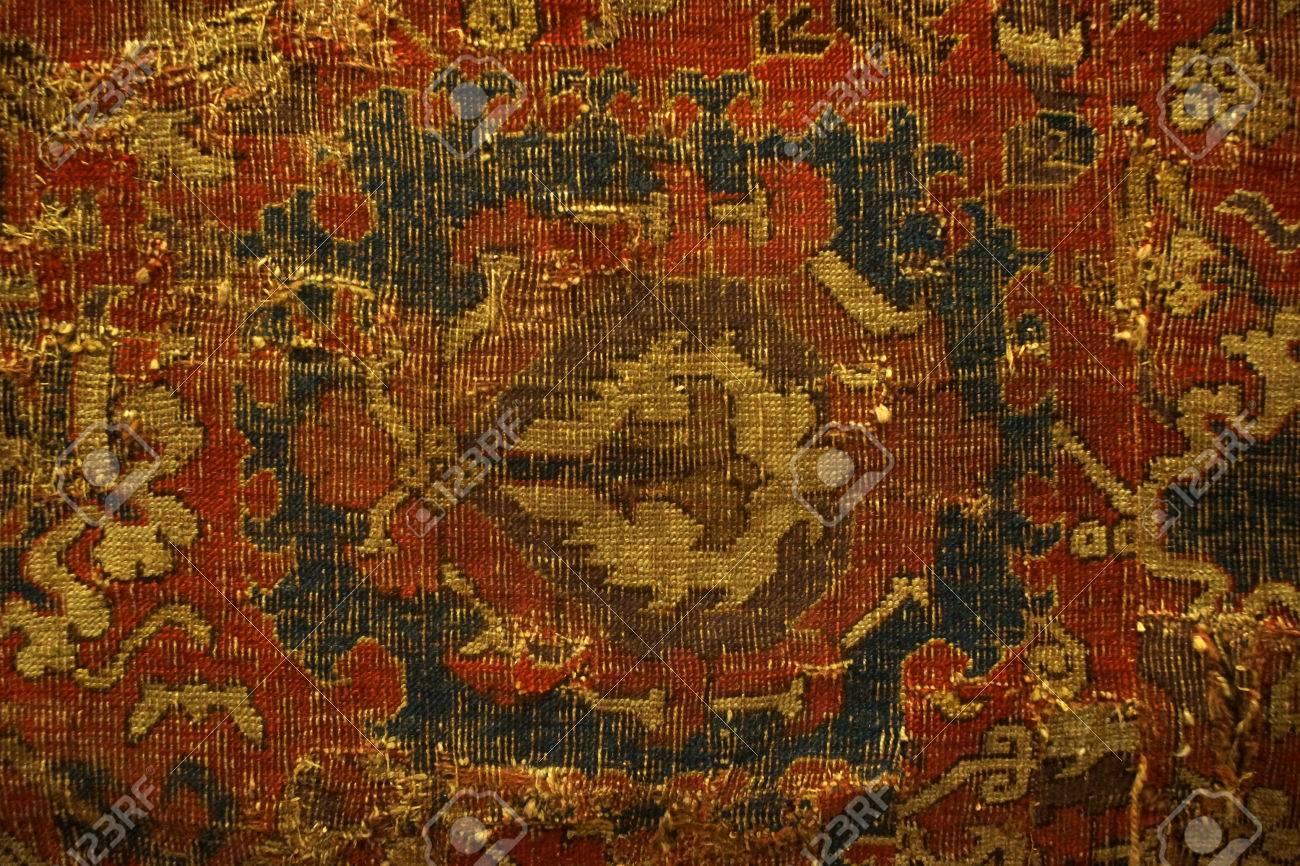 banque dimages tapis vintage dans le muse de lusine de tapis armnien - Tapis Vintage