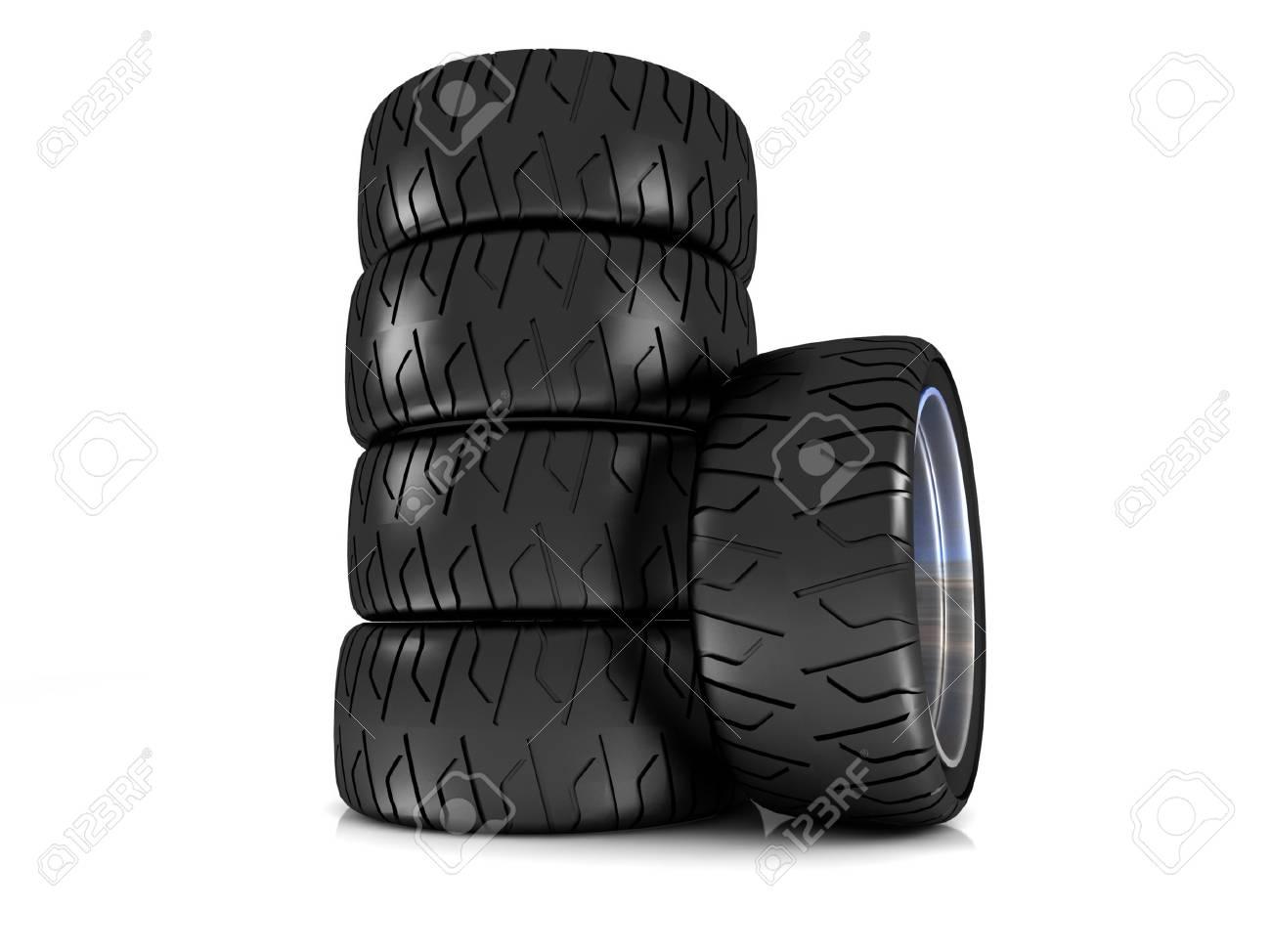 New wheels Stock Photo - 17019429