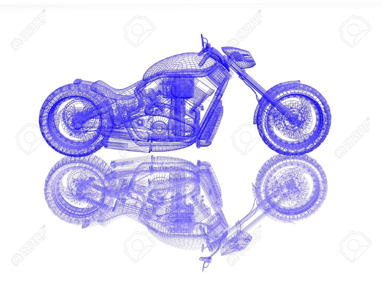 motorcycle model Stock Photo - 17019652