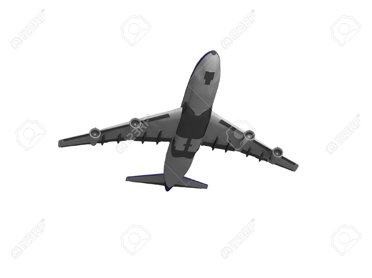 jet airplane isolated on white Stock Photo - 17409361