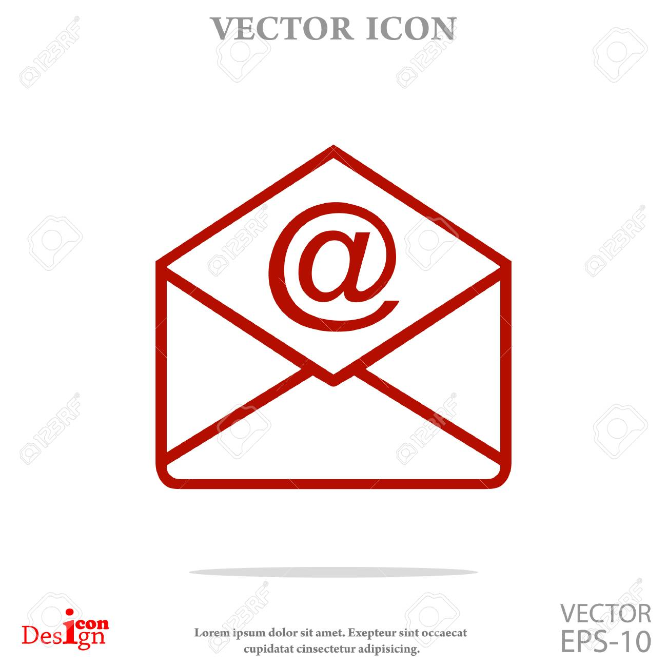 address vector icon