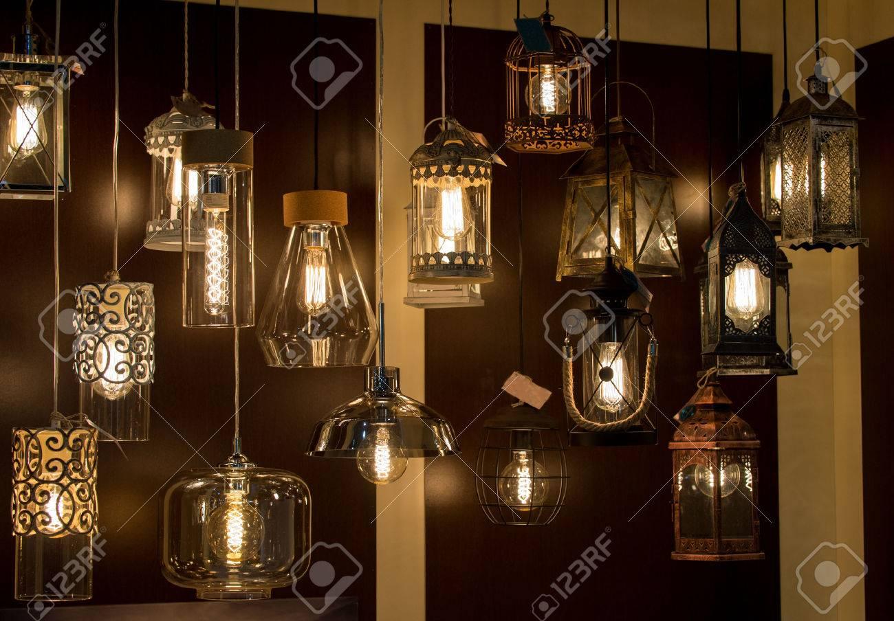 Bella lusso stile vintage illuminazione interna decor lampada