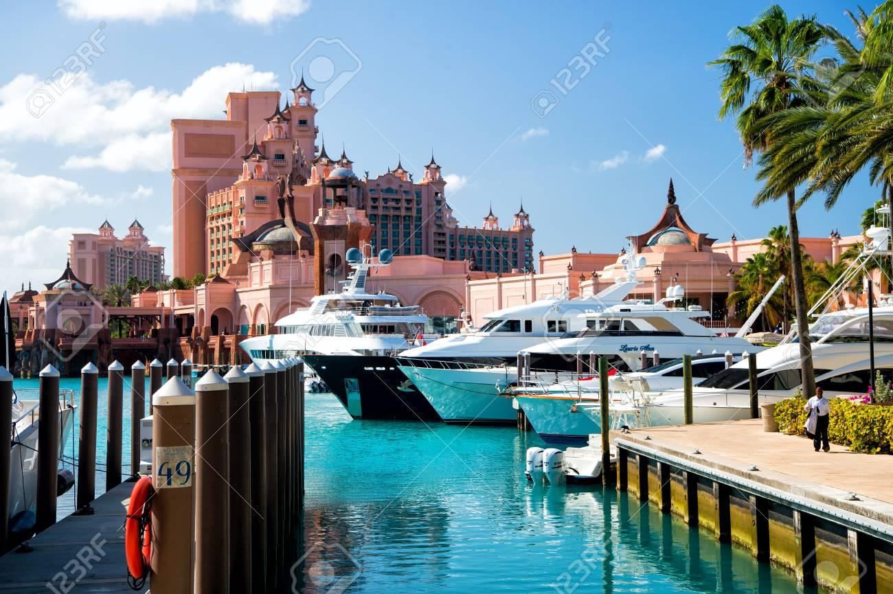 Nassau Bahamas March 9 2016 The Atlantis Paradise Island Stock Photo Picture And Royalty Free Image Image 67537226