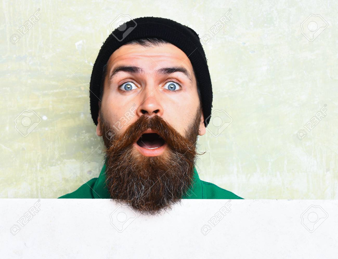 65abb76c79c Bearded Man In Black Cap