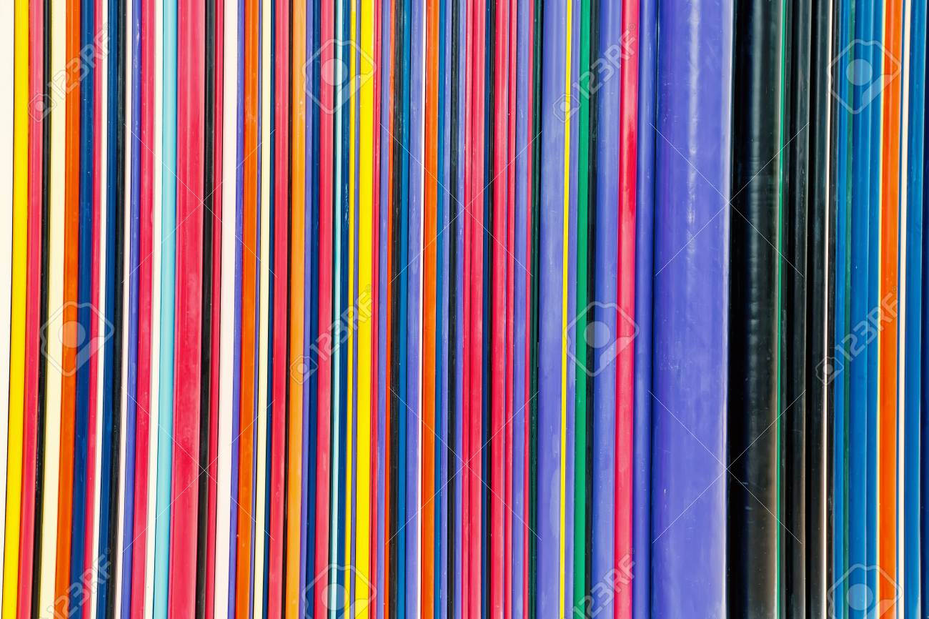 Colorful Lines Abstract Art Or Texture
