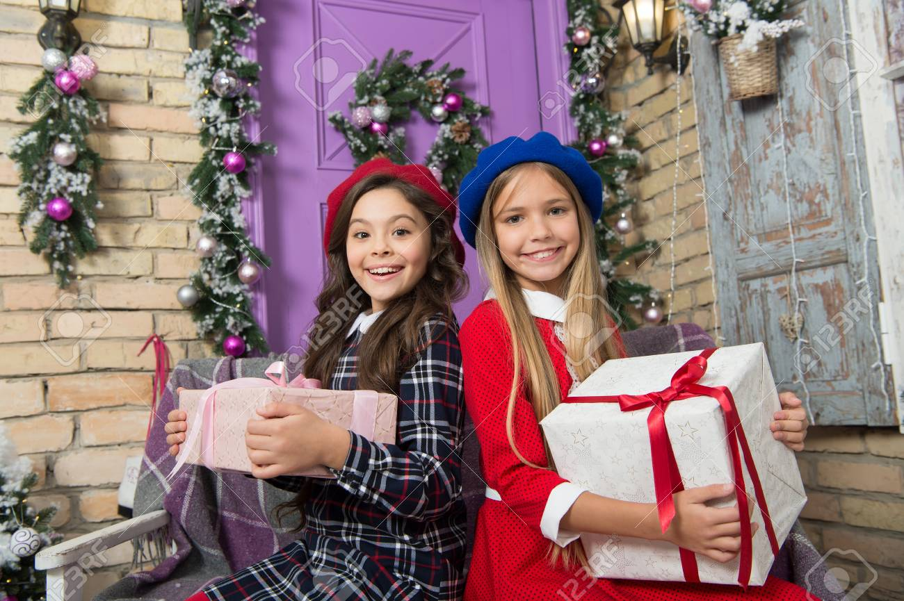 All About Christmas Eve.Everything About Christmas Is The Best Cute Children With New