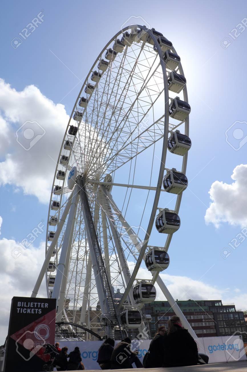 Gothenburg, Sweden, May 19 - The Wheel of Gothenburg Stock Photo - 15583632