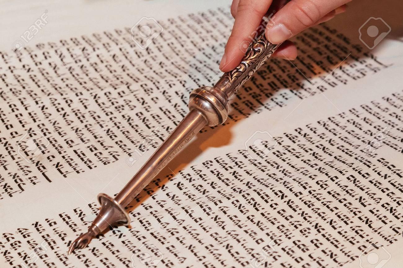 Jewish man dressed in ritual clothing family man mitzvah jerusalem - 53135973