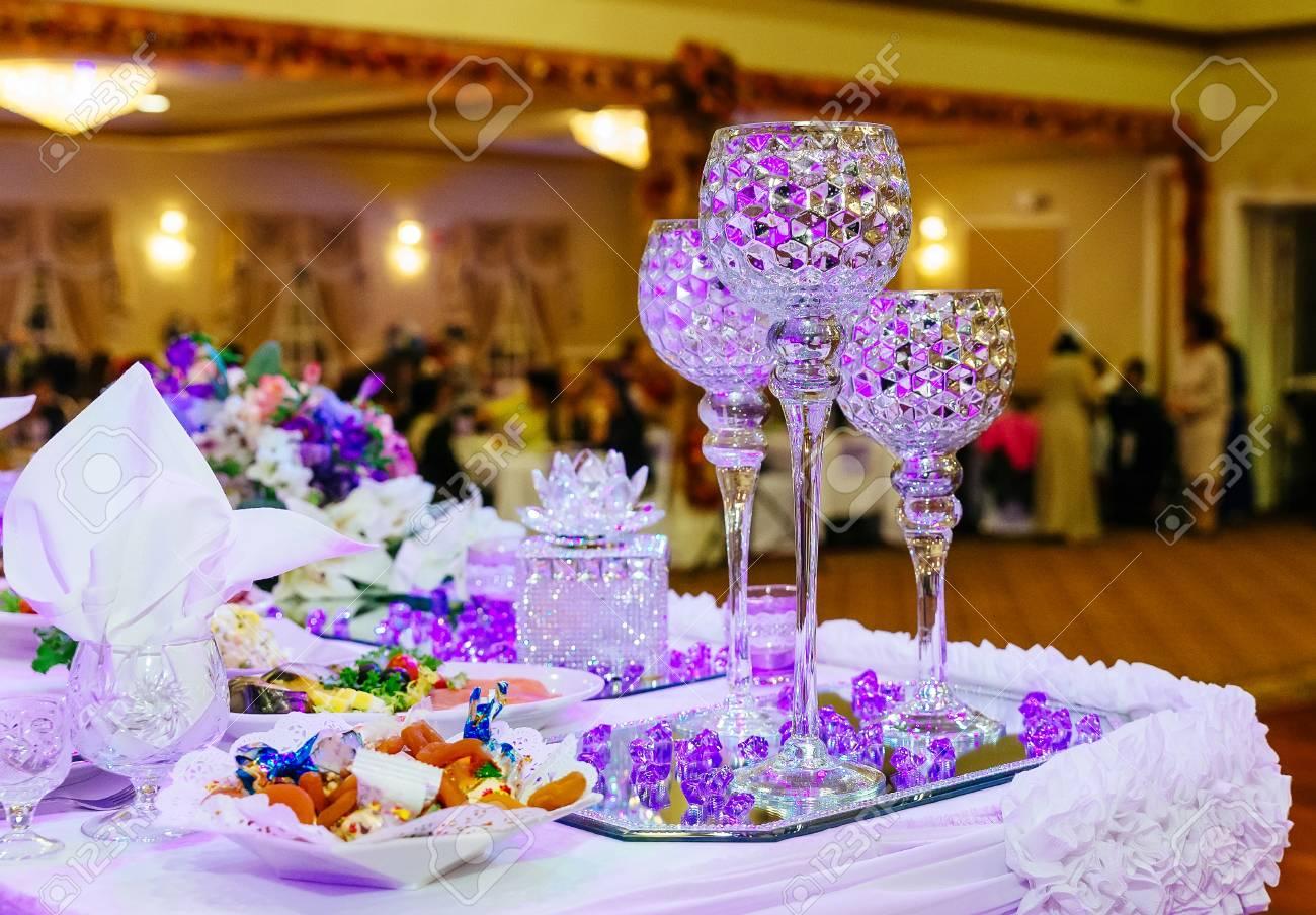 Tisch Fur Eine Event Party Oder Hochzeitsfeier Restaurant Hochzeit