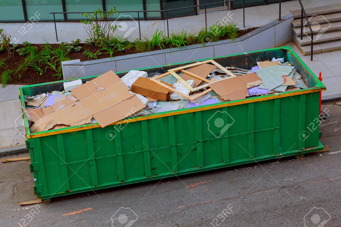 Recycling container trash on ecology and environment - 78857935