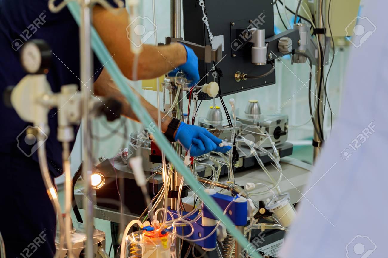 Blood transfusion in the ICU Cardiopulmonary bypass CPB machine