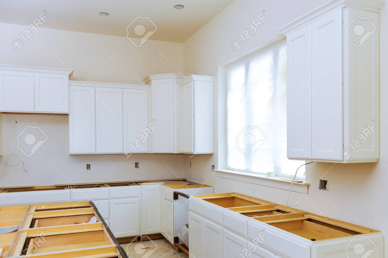 Kitchen Cabinets Installation Blind Corner Cabinet Island Drawers